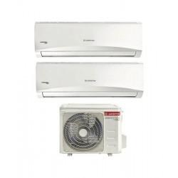 ARISTON THERMO PRIOS 50 XD0-O 2x PRIOS R32 25 UD0-I Climatizzatore Dualsplit 9+9btu A++ GAS R32 Inverter Caldo/Freddo (-65%)