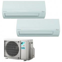 DAIKIN ATXF35A+ATXF35A/2AMXF50A Condizionatore Dual 12+12 A++ GAS R32 Caldo/Freddo Deumidif. WiFi Opzionale (-65%)