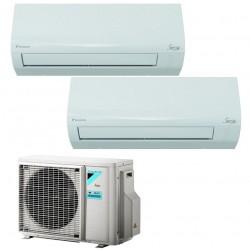 DAIKIN ATXF25A+ATXF25A/2AMXF40A Condizionatore DUAL 9+9 A++ GAS R32 Caldo/Freddo Deumidif. Wifi Opzionale (-65%)